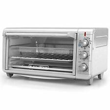 Black & Decker Extra Wide Crisp 'N Bake Air Fry Toaster Oven (to3265xssd)