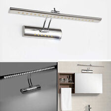 7W DAY WHITE LED MIRROR-FRONT LIGHT BATHROOM PICTURE WALL DISPLAY LAMP W/ SWITCH