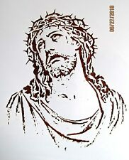 Religious Jesus Christ Stencil / Template Reusable 10 mil Mylar