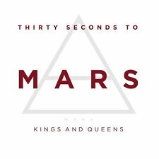 30 SECONDS TO MARS - KINGS AND QUEENS - CD SINGLE CARDSLEEVE 2009 - BRAND NEW