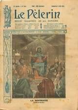 La Pentecote Tableau de Charles Gleyre peintre suisse Schweiz 1919 ILLUSTRATION
