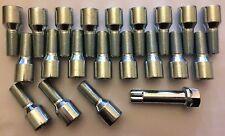 16 X Sintonizador M14X1.25 50 mm largo + Llave Rosca Pernos Llantas de aleación cabe Mini ver lista