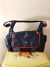 e5fba533b 😎Vintage😎 Tommy Hilfiger Blue Red Duffel Bag Athletics Backpack Messenger