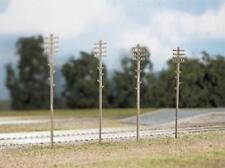 Ratio - 452 - OO Gauge Telegraph Poles (16 per pack)