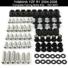 Complete Stainless Fairing Bolt Kit Body Screws For 2004-2006 Yamaha YZF R1 2005