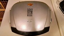 George Foreman Lean Mean Fat Grilling Machine; Model Grp3; Used