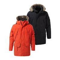 Craghoppers Mens Bishorn Waterproof Breathable Fur Hooded Jacket RRP £200