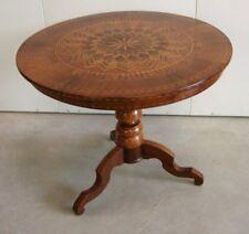 Tavolino antico intarsiato. Rolino - Sorrentino.