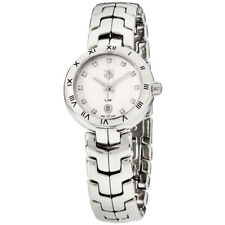 Tag Heuer Link Quartz Movement Silver Dial Ladies Watch WAT1411.BA0954