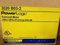PowerLogic Enercept Meter SCHNEIDER ELECTRIC 3020B032 / 3020 B03-2 (NEW IN BOX)