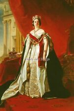 mm616 - Queen Victoria in her Royal Robe - photograph 6x4