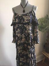 NEW Denim & Supply Ralph Lauren Floral off the shoulder size M 165$