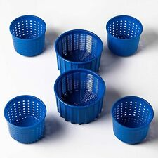 Cheesemaking Cheese molds 0.3L+0.6L Blue Cheesemaking Cow Goat Sheep Milk Rennet