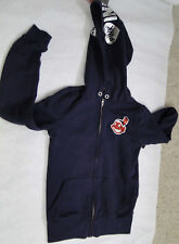 RARE Victoria's Secret VS PINK Cleveland Indians HOODIE Sz XSmall CHIEF YAHOO