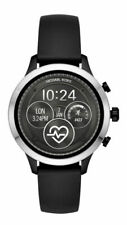 Michael Kors MKT5049 Smart Watch,Stainless Steel,Silicone Armband,Silver/Black