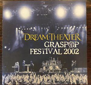Dream Theater Grasspop Festival 2002 Cd DT INTERNATIONAL FAN CLUB OUT OF PRINT