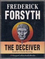 The Deceiver Frederick Forsyth 2 Cassette Audio Book Abridged Thriller FASTPOST