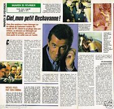 Coupure de presse Clipping 1991 (1 page 1/2) Christophe Dechavanne