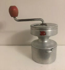RARE HOP Antique French Coffee Grinder Mill Manual Artisanal Hand Crank Vintage