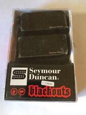 Seymour Duncan AHB-1s Blackouts  7 String Pickup Set Black 11106-35-B-7Str