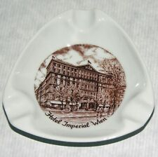 Austria Hotel Imperial Wien Lilien Porcelain Ashtray Vintage Souvenir