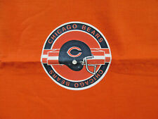NFL Chicago Bears Warm Acrylic Orange Stadium Blanket Throw 60 x 45 USA Made