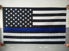 New listing Usa Thin Blue Line Banner Flag 3 X 5 Police Support Law Enforcement Pride New
