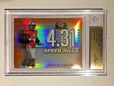 2017 Valiant Draft Pre-Production Proof Speed Kills Orange Curtis Samuel #1/1
