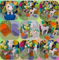 💛🦆My Little Pony g1 Twinkle Eyed Quackers & Baby Quackers 💛🦆 W/ Combs