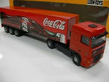1/50 Lion toys daf xf Coca Cola valise-semi-remorque