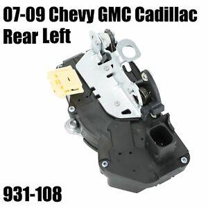 Power Door Lock Actuator Rear Left Fit GMC Sierra Yukon Tahoe Escalade 07 08 09