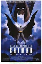 BATMAN MASK OF THE PHANTASM MOVIE POSTER Original DS 27x40 ANIMATION 1993