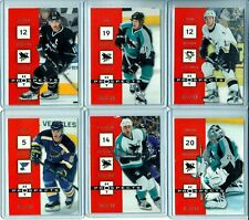 2005-06 Hot Prospects Red Hot #83 Patrick Marleau /100 SET BREAK