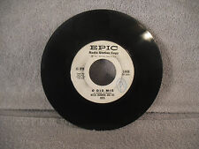 """Mitch Manning & His Orch, Happy Motor Scooter / O Dio Mio, Epic 5-9436 7"""" 45 RPM"""