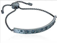 MICHAEL KORS Women's Modern Brilliance Crystal Blue Slider Bracelet MKJ5985404