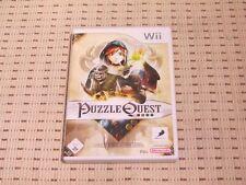 Puzzle quest Challenge of the seigneurs de guerre pour nintendo wii et wii u * OVP *