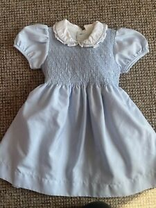 Smocked Dress 2-3