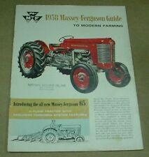 1958 Massey-Ferguson Brochure