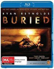 Buried (Blu-ray, 2011), NEW & SEALED, REGION B