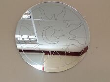 """SUN MOON AND STAR MIRROR 14"""" ROUND, GREAT IN ANY ROOM, MADE IN UK,"""