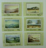 New Zealand   SC #912-17 LAKES   Used stamp set