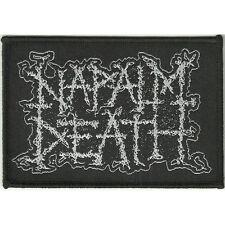 "Napalm Death ""Logo"" Woven Patch - NEW OFFICIAL scum utilitarian apex predator"