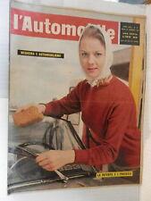 L AUTOMOBILE 25 Febbraio 1962 Uiga e Unamsi Citroen Rennes Isabelle Corey Vino