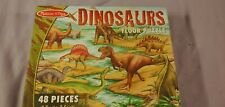 DINOSAURS 48-PIECE FLOOR PUZZLE -BRAND NEW; SEALED IN BOX