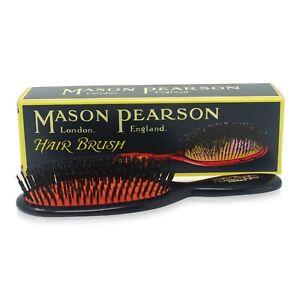 Mason Pearson Pocket Bristle Hairbrush Dark Ruby B4