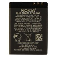 Renewed OEM Nokia BL-4B 700 mAh Replacement Battery for Nokia