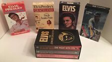Lot Of 7 RARE Elvis Vhs Tape's Concert Collection, Graceland, Memories, + More