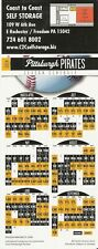 PITTSBURGH PIRATES 2014 MLB MAGNET SCHEDULE - FREE SHIPPING! PNC PARK