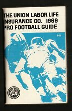 Union Labor Life Insurance--1969 Pro Football Guide/Schedule Booklet