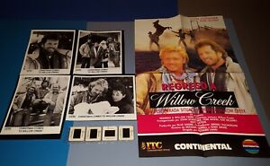 CHRISTMAS COMES TO WILLOW CREEK PRESS KIT JOHN SCHNEIDER TOM WOPAT PHOTO SLIDES